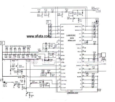 Ic Program Tv electronic circuit diagram tv program digital using