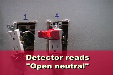 open neutral house wiring open ground the wiring diagram readingrat net