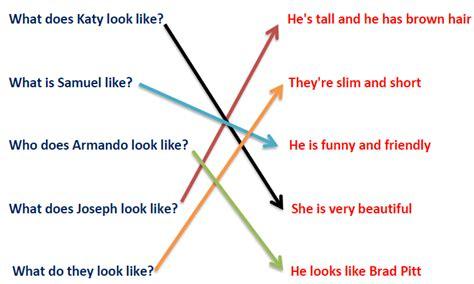 preguntas y respuestas en ingles con what 1 8 preguntas de personalidad apariencia quot be like