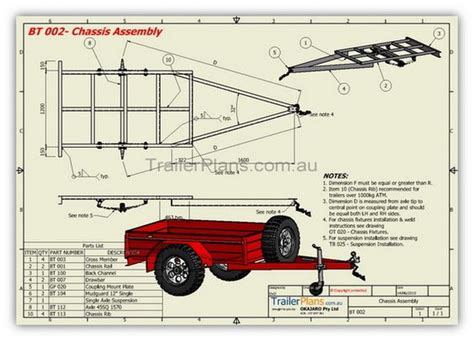 diy hard floor cer trailer plans box trailer plans build your own trailer www