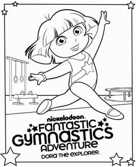 gymnastics leotard coloring book coloring pages