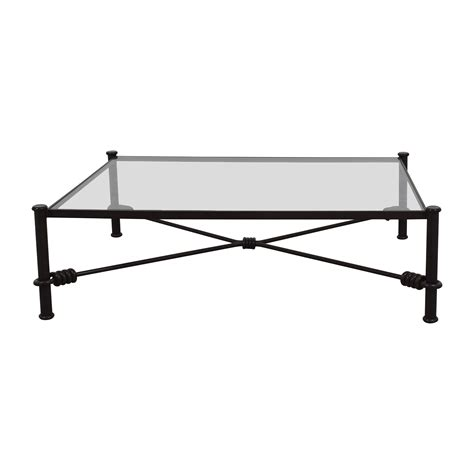 black iron coffee table black wrought iron glass coffee table tables coffee