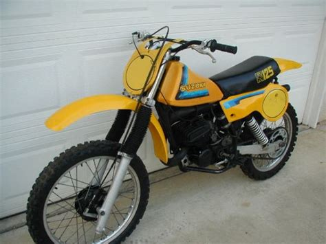 Suzuki Fresno Suzuki Rm125 Vintage 1979 Fresno Usa Free Classifieds
