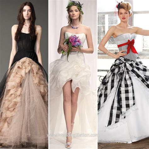 Wedding Dress Alternatives by Alternative Wedding Dresses Weddingelation