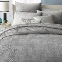 White Queen Bedroom Furniture - cotton luster velvet diamond duvet cover shams west elm