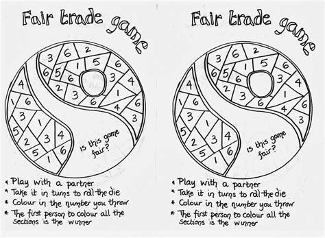 Fairtrade Fortnight My Bb Resources Printable Coloring Pages Trading