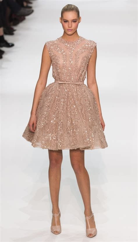 Whats Haute In The Uk by Fashion Week Elie Saab Delivers Pastel