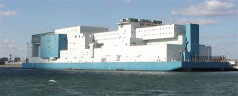 rikers island boat vernon c bain correctional center the wall of chions