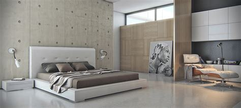 cool bedroom features unique wall texturing exles