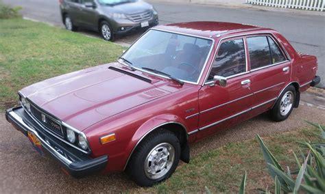 vintage honda accord 1979 honda accord cvcc sedan vintage car low mileage