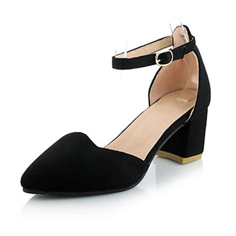 comfortable evening dress shoes women s shoes chunky heel heels comfort pointed toe