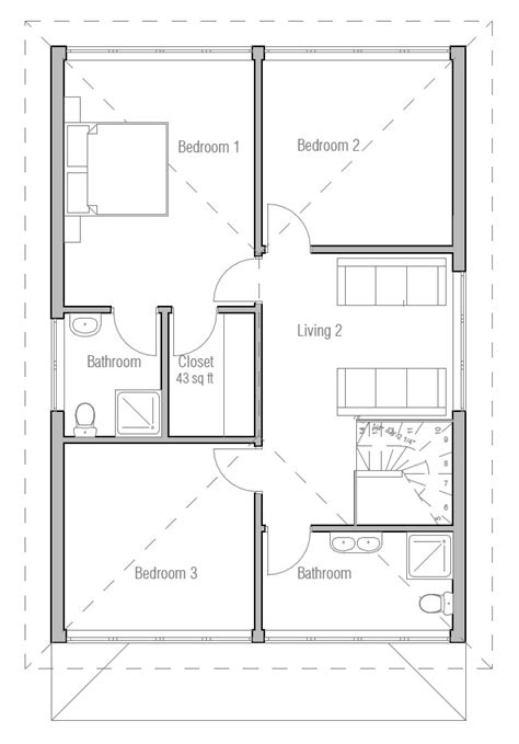 Australian House Plans Australian House Plan Ch191 Australian House Blueprints