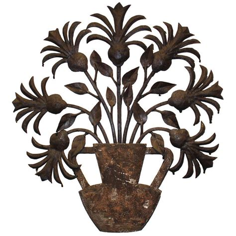 tole and wood decorative applique at 1stdibs