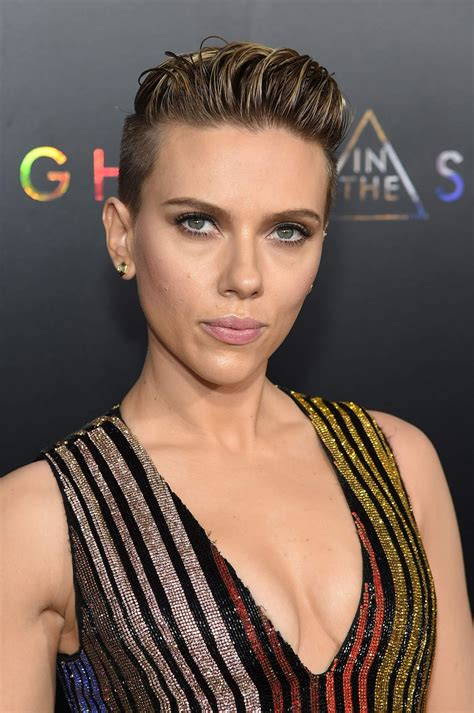 scarlett johansson quotghost in the shellquot premiere in nyc