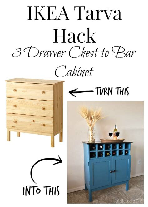 this tarva dresser got a major facelift with an