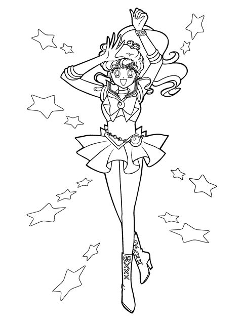 coloring page sailormoon coloring pages 22