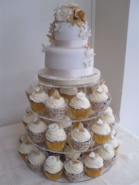 wedding cupcake ideas wedding cupcake ideas golden wedding anniversary