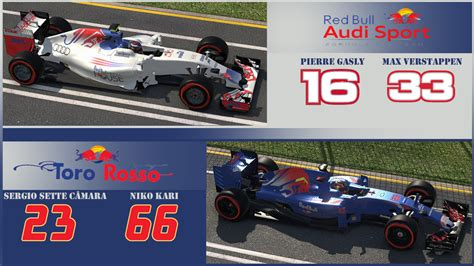 2019 F1 Drivers by Career Mode 5th Season Package File 1 Racedepartment