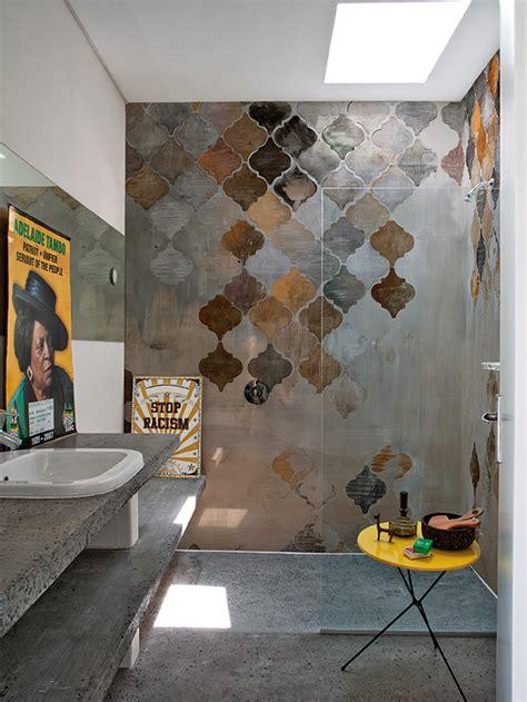 wallpaper wall and deco motif bathroom wallpaper aladino wet system 16