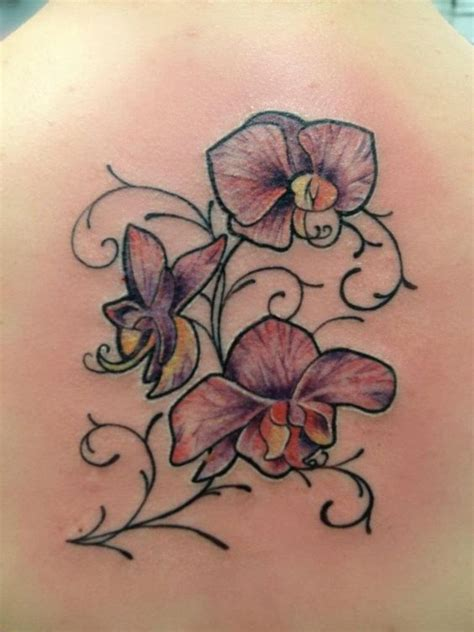 tattoo name vines orchid tattoo names written with vines tattoos