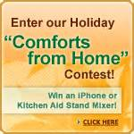 comforts of home blog the comforts of home holiday contest