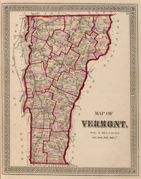 maps of vermont railroad maps