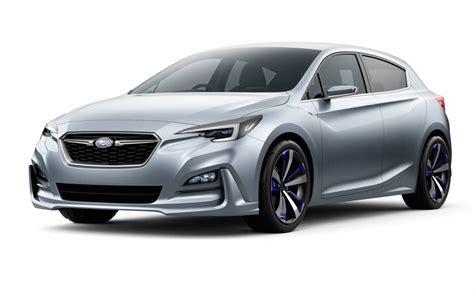 concept car subaru impreza concept motorbox subaru previews future impreza with stylish concept performancedrive