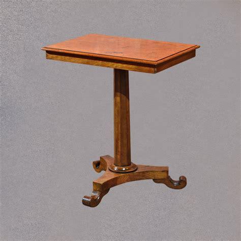 antique side table antique side table regency walnut c 1830 antiques atlas
