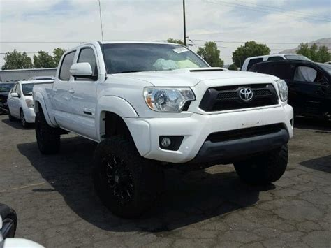 Toyota Prerunner 2013 2013 Toyota Tacoma Prerunner For Sale At Copart Colton Ca