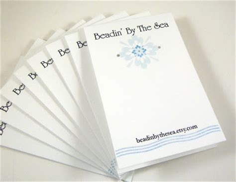 how to make custom earring cards beadin by the sea how to make your own earring cards