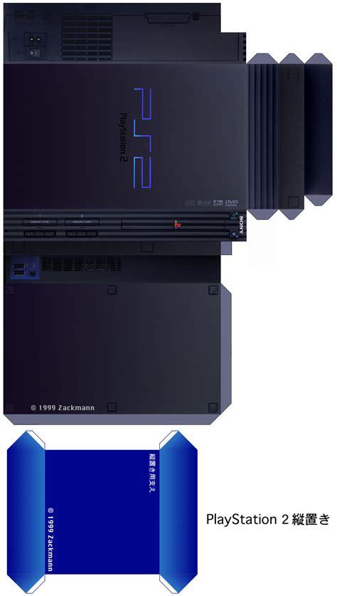 Playstation Papercraft - pin cubeecraft de juegos taringa on