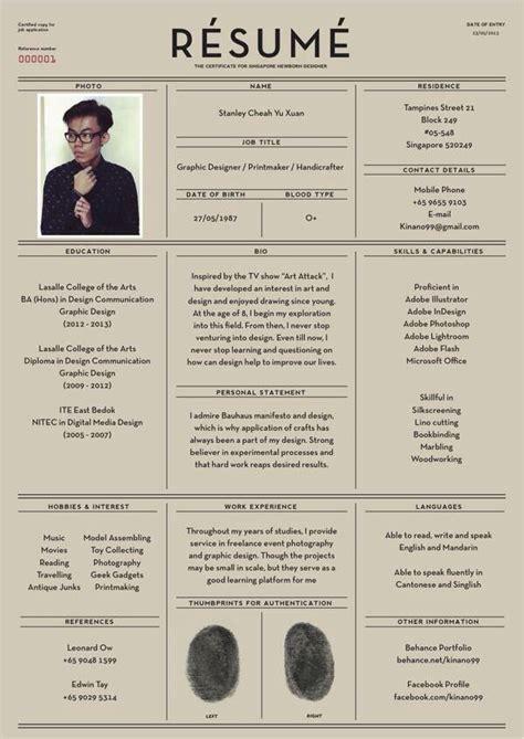 designspiration resume awesome resume design fun tastic pinterest design