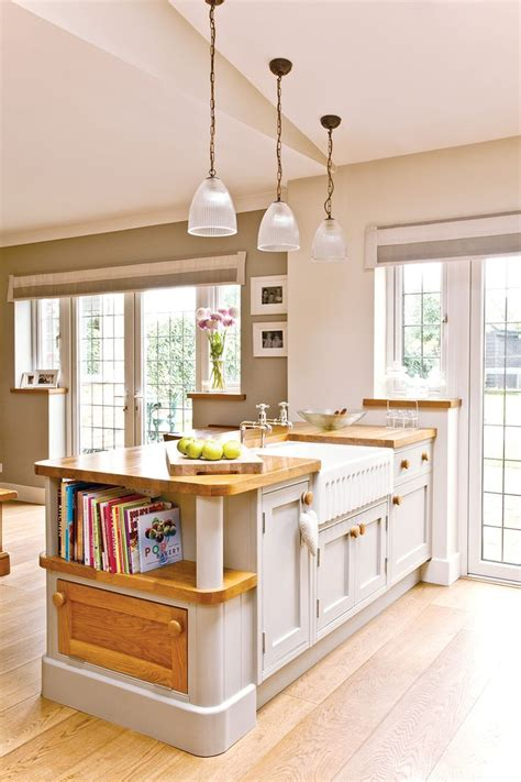 pinterest kitchen island ideas birch wood bright white shaker door large kitchen island