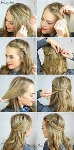 hairstyles and easy to do m 7 super cute everyday hairstyles for medium length hair