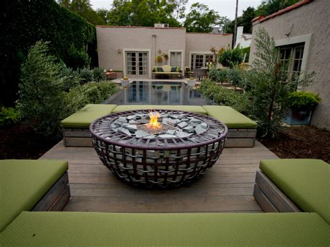 pit designs outdoor pits and pit safety hgtv