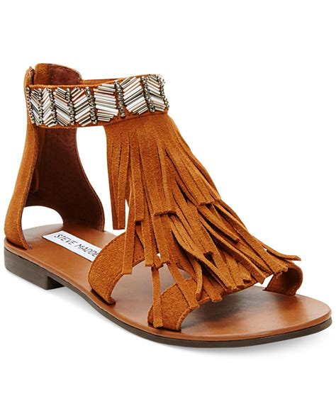 groundhog day nowvideo flat sandals with fringe 28 images forever s cut out