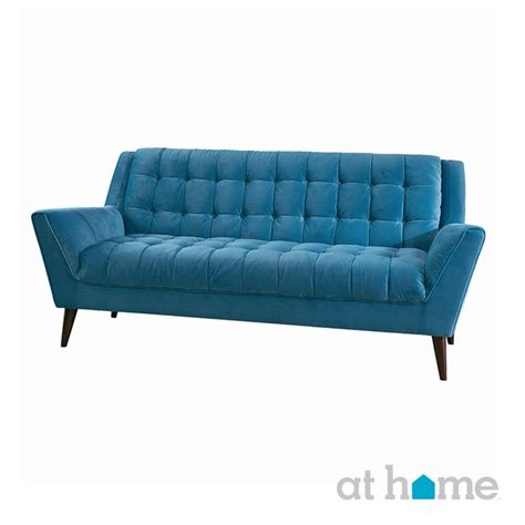 bright blue couch a bright blue mid century modern couch instantly adds