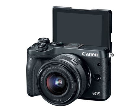 Kamera Canon M6 canon eos m6 mirrorless joins the eos m series