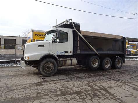 2002 volvo truck volvo dump trucks in indiana for sale 20 used trucks from