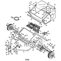agri fab model 45 02602 lawn sweeper genuine parts