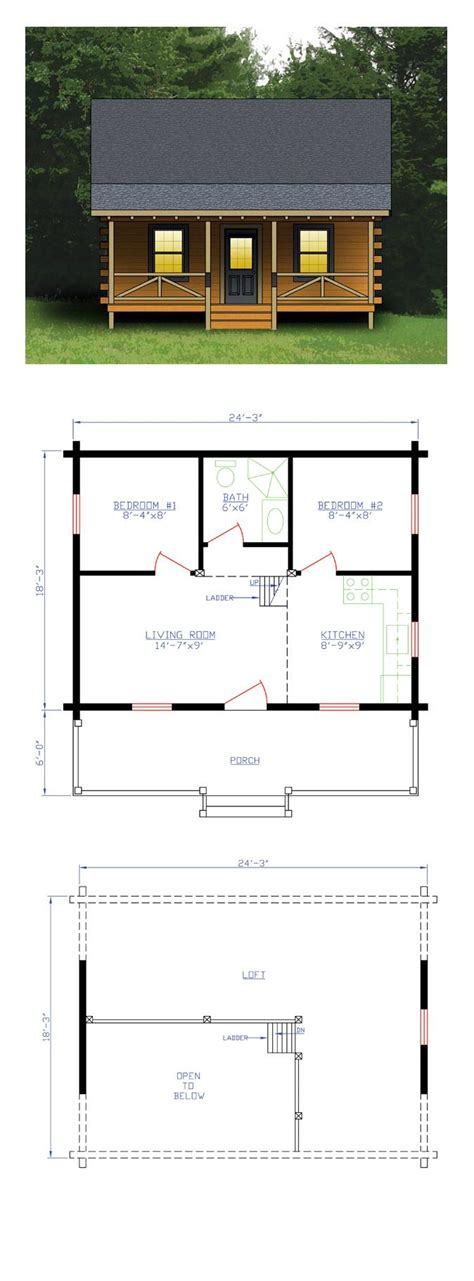 small 2 bedroom cabin plans best 25 small cabin plans ideas on small home