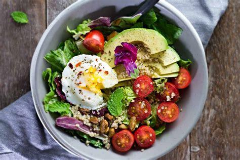 My House Plan poached egg amp avocado breakfast salad jar of lemons