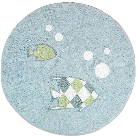 30 round rugs and exles of how to complete the look of sweet jojo designs go fish 30 inch round accent rug www