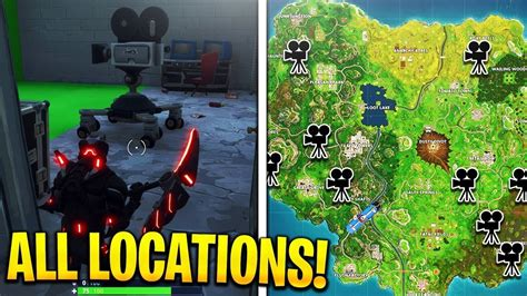 where fortnite cameras quot in front of different cameras quot all locations