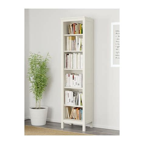 libreria hemnes ikea hemnes bookcase white stain 49x197 cm ikea