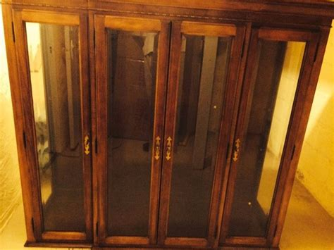 Beautiful National Mt Airy China Cabinet For Dining Room National Furniture Bedrooms