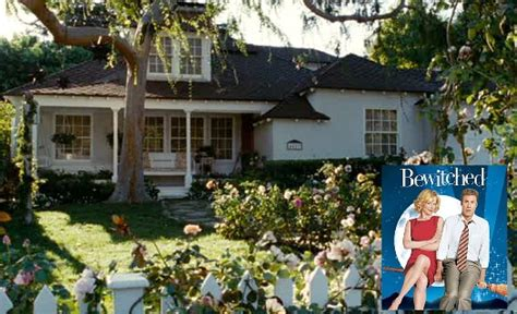 the bewitched sitcom tv house in the movie bewitched nicole kidman s cottage in the bewitched movie