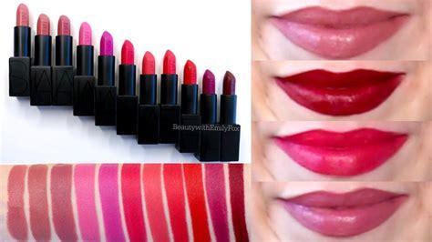Nars Audacious Lipstick nars audacious lipstick swatches