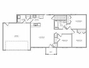 2 Bedroom Ranch Floor Plans free ranch style house plans with 2 bedrooms ranch style floor plan