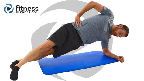 10 minutes abs workout advanced weighted workout fitness blender